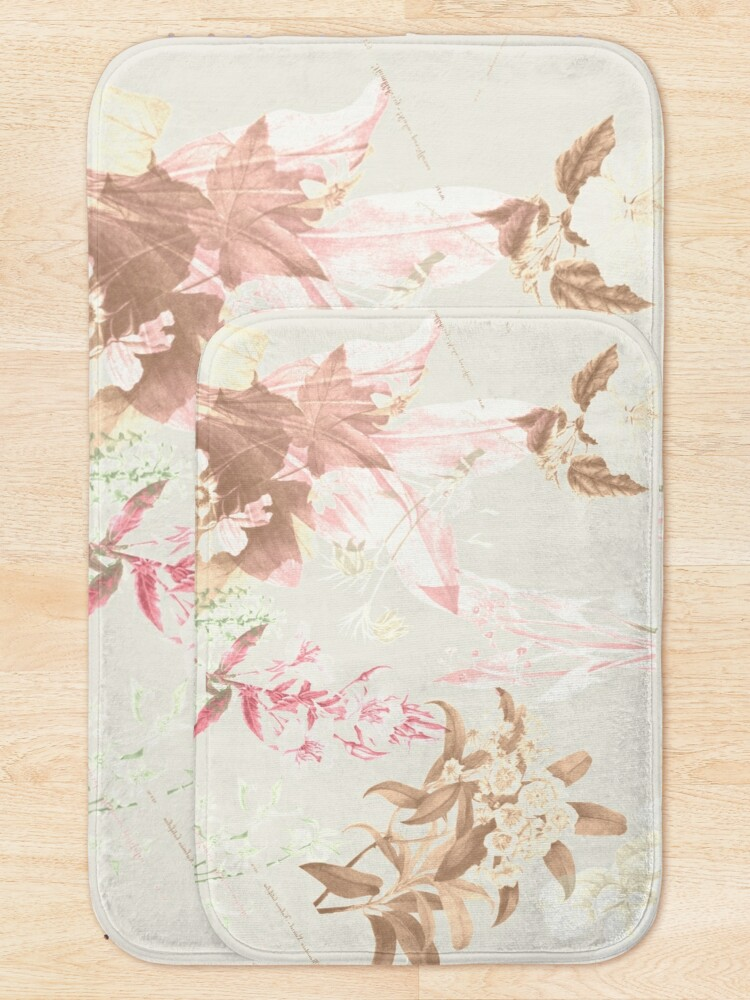 Alternate view of Floral Vintage Bath Mat