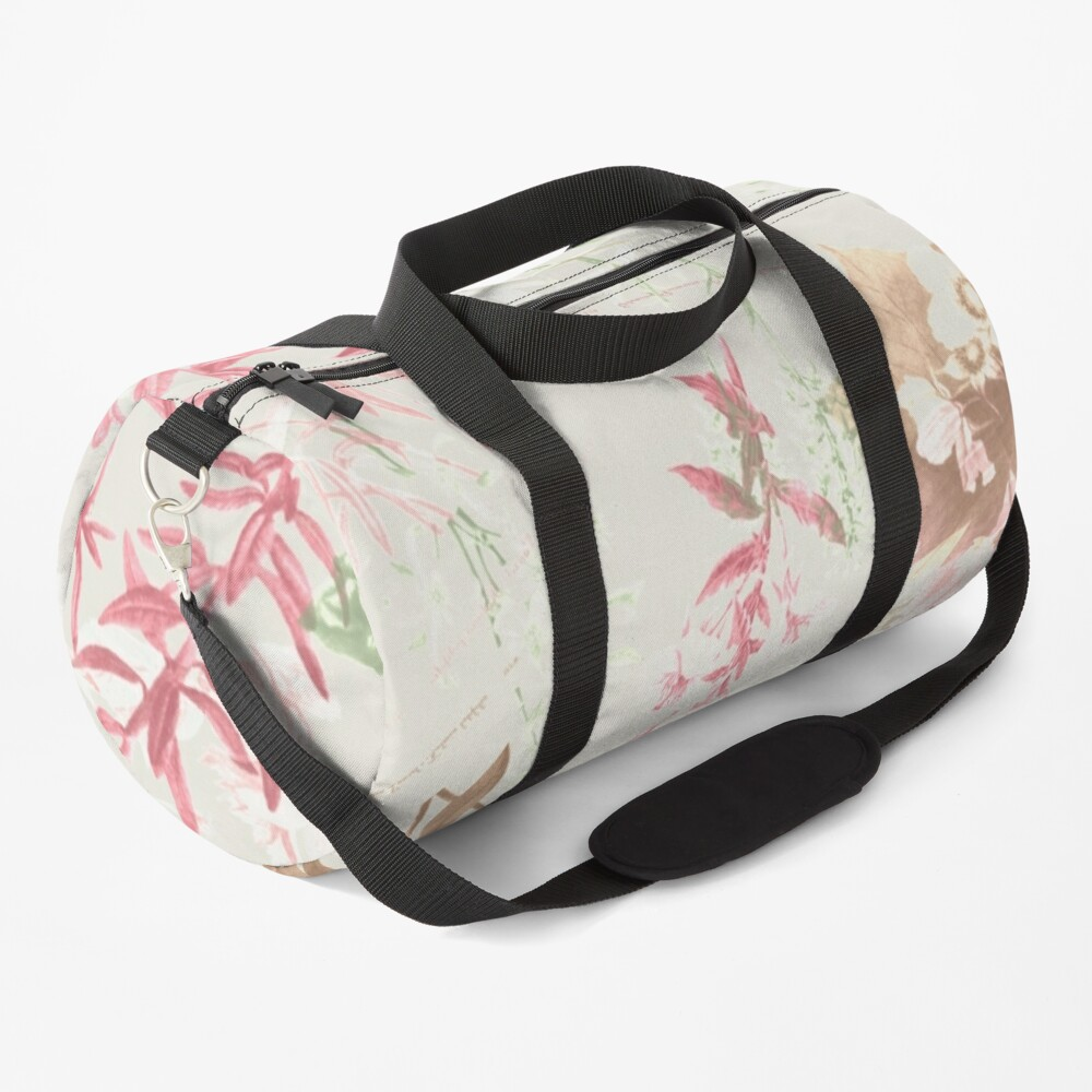 Floral Vintage Duffle Bag
