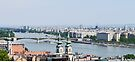 Budapest Danube Panorama by Graeme  Hyde