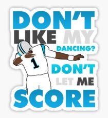 Pegatina No me gusta mi baile?