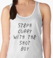 Curry Drake Shot (Black) Women's Tank Top