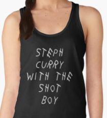 Curry Drake Shot (White) Women's Tank Top