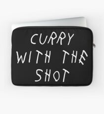 Curry Drake Shot (White) Laptop Sleeve