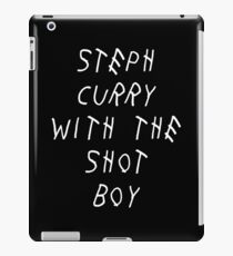 Curry Drake Shot (White) iPad Case/Skin