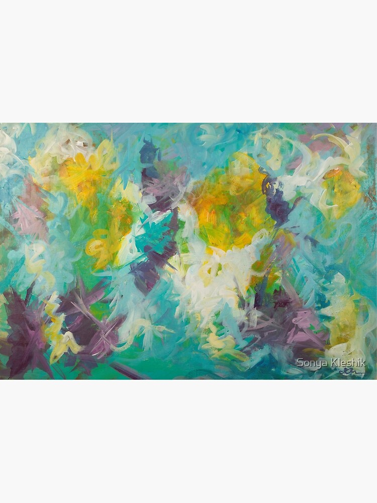 Pastel Abstract Irises by sonyak5