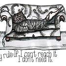 Lazy rule by Jenny Wood