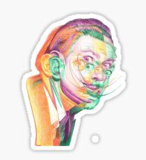 Dali Dali Dali Sticker