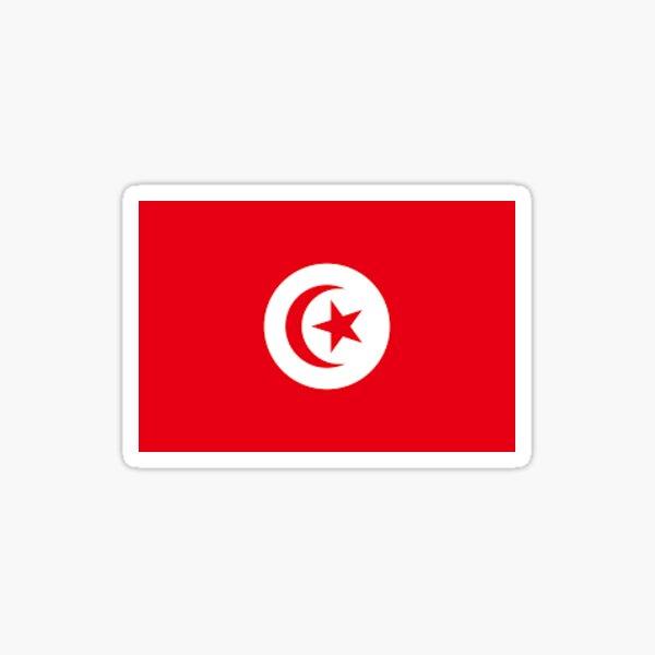 Drapeau de la Tunisie Sticker