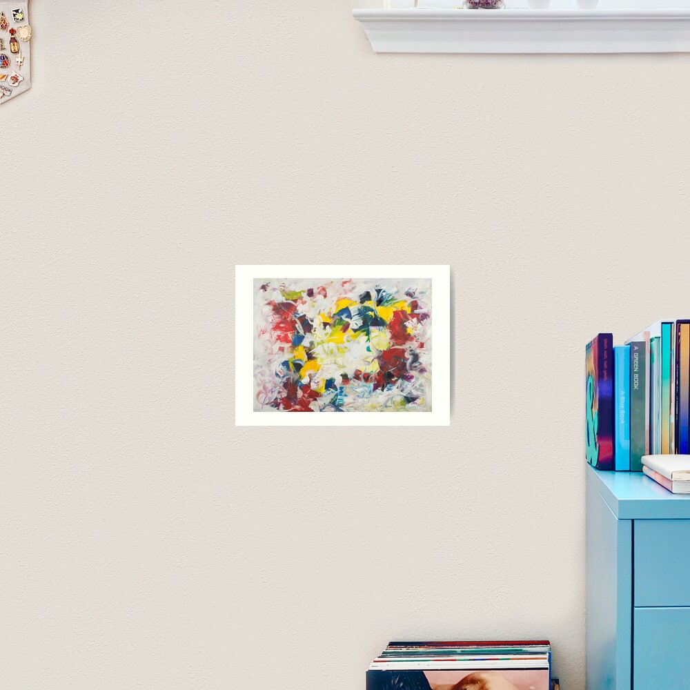 Abstract Petals in Motion Art Print