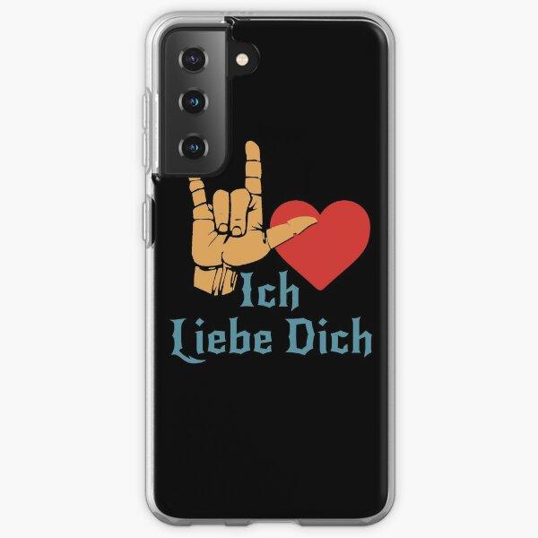 Ich Liebe Dich, Liebeszeichen, ich liebe dich auf Deutsch Samsung Galaxy Flexible Hülle