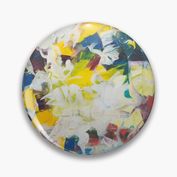 Abstract Petals in Motion Pin