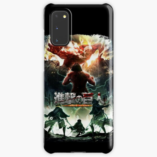 attack on titan  Samsung Galaxy Snap Case
