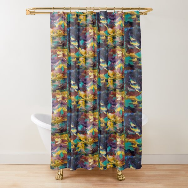 Lighthouse in Sunset Shower Curtain
