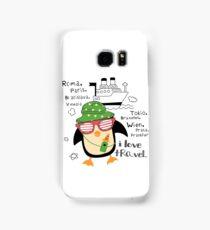 penguin-traveler!) Samsung Galaxy Case/Skin