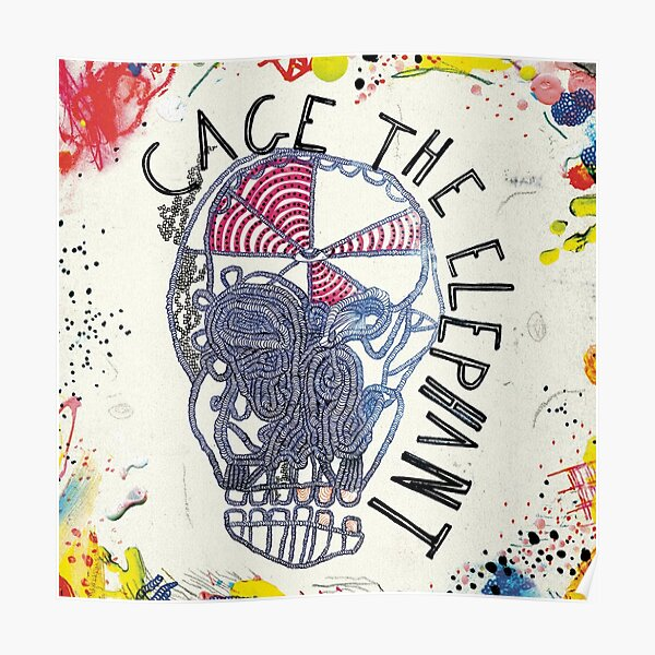 Rock Band Cage The Elephant Album Poster