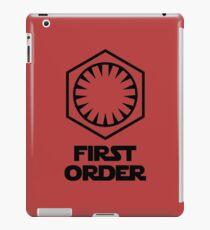 Star Wars - The First Order Symbol iPad Case/Skin