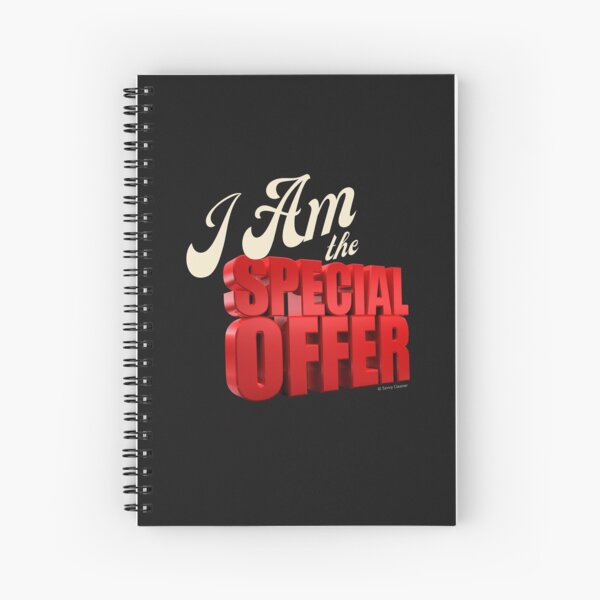 Special Offer Cleaning Crew Gifts, Housekeeping Humor Spiral Notebook