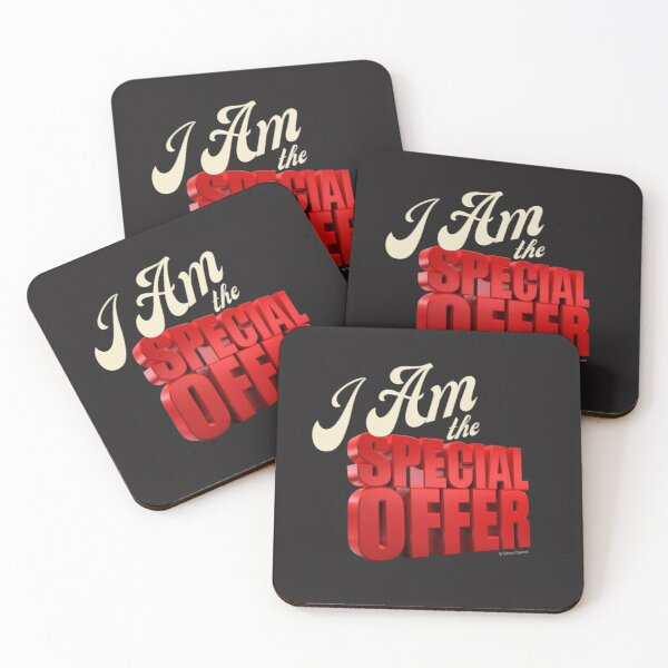 Special Offer Cleaning Crew Gifts, Housekeeping Humor Coasters (Set of 4)