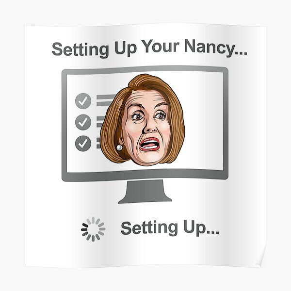 Setting Up Your Nancy WTFBrahh Poster