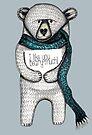 I like you beary much by Jenny Wood