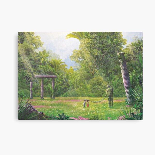Indoor Garden (Only 35 prints!) Canvas Print