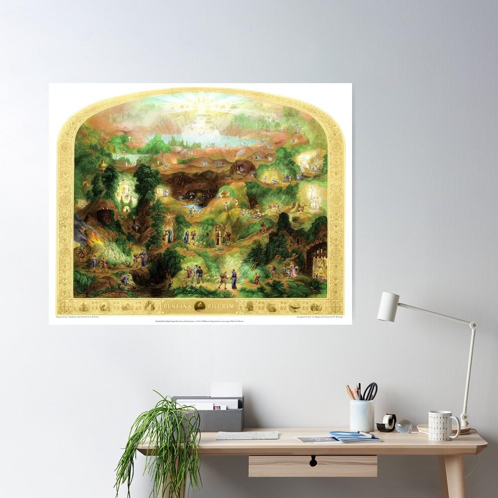 Bunyans Pilgrim - Colour Edition Poster