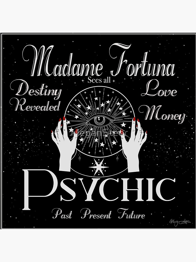 Madame Fortuna Sees All by MeganSteer