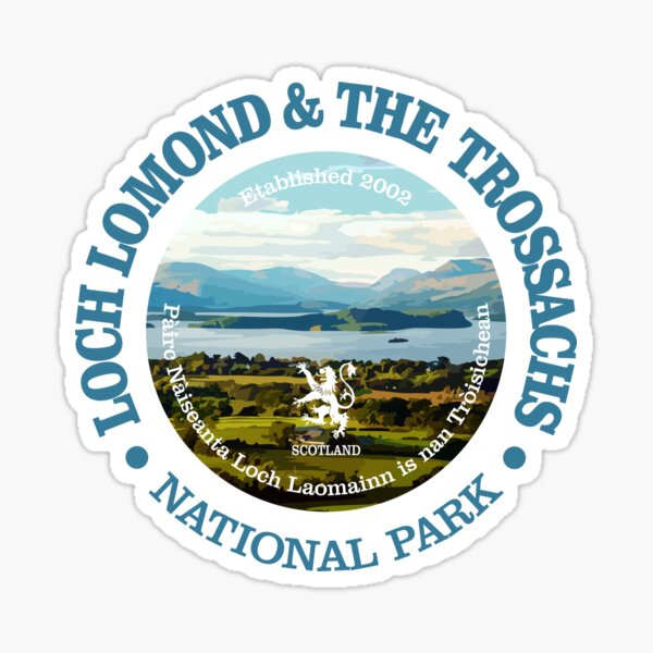 Loch Lomond & The Trossachs National Park (NP) Sticker