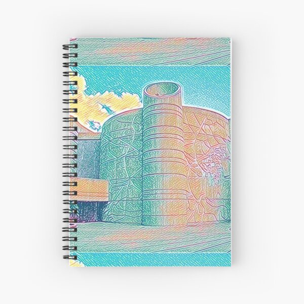 House of the Book Spiral Notebook