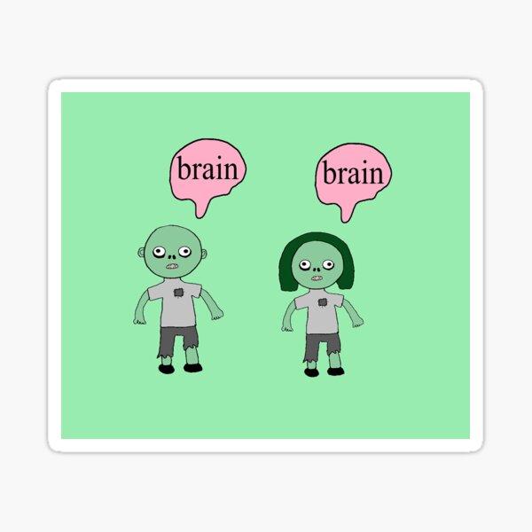 Zombie Children  Sticker