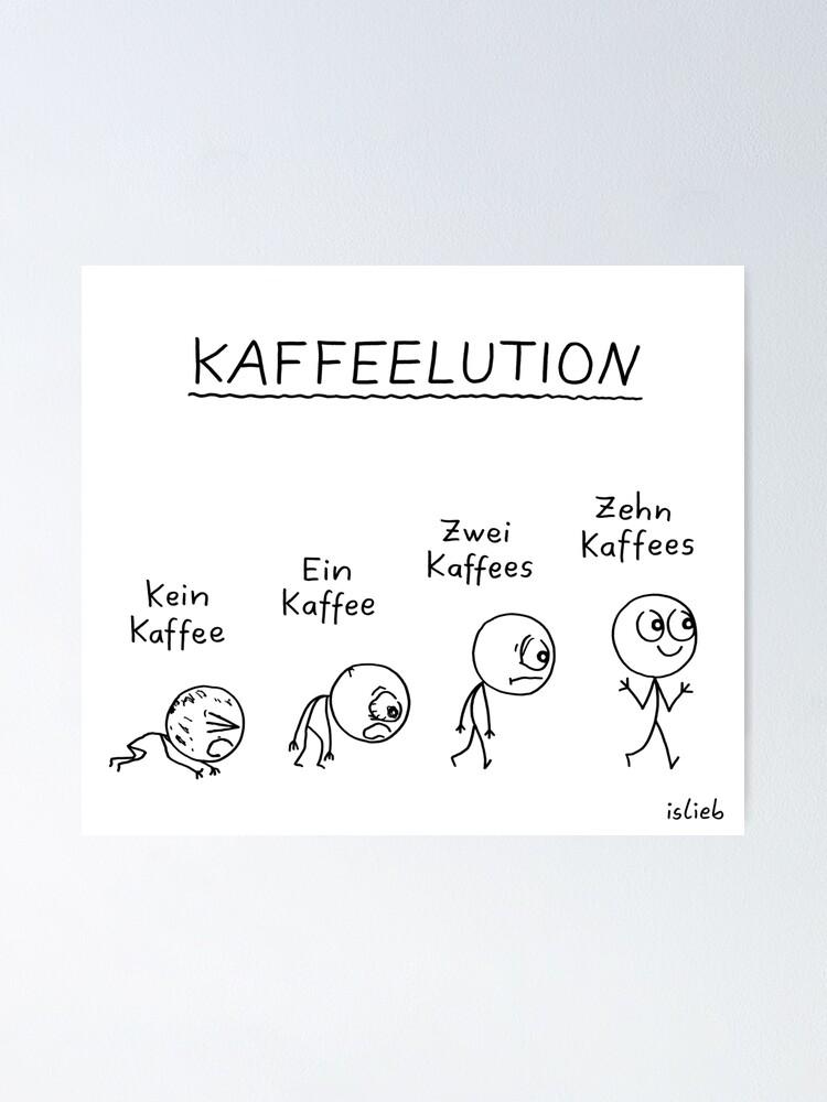 Alternative Ansicht von Kaffeelution Poster