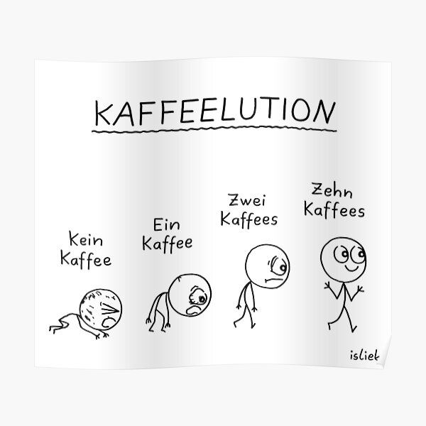 Kaffeelution Poster