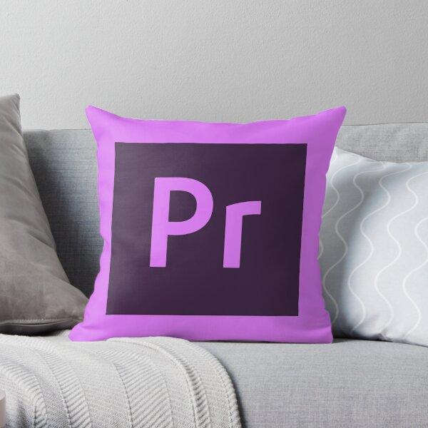 Premiere Pro Throw Pillow