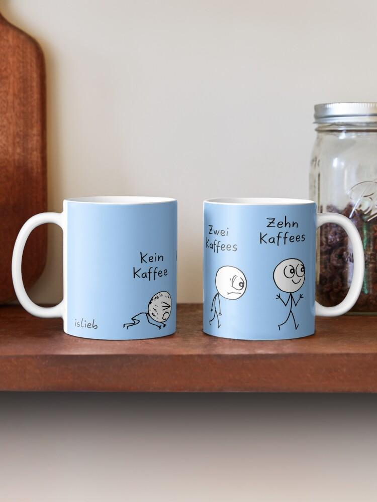 Alternative Ansicht von Kaffee Evolution Tasse