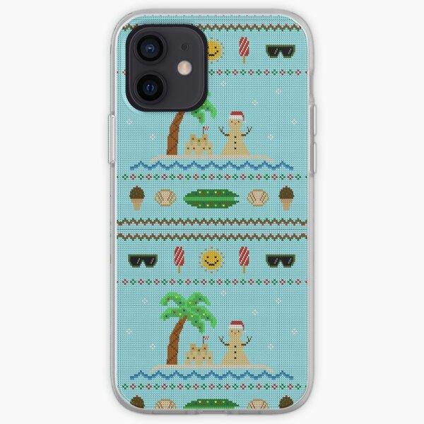 Beach Holiday Knit iPhone Soft Case