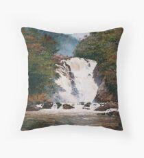 Waterfall at Votorantim Throw Pillow
