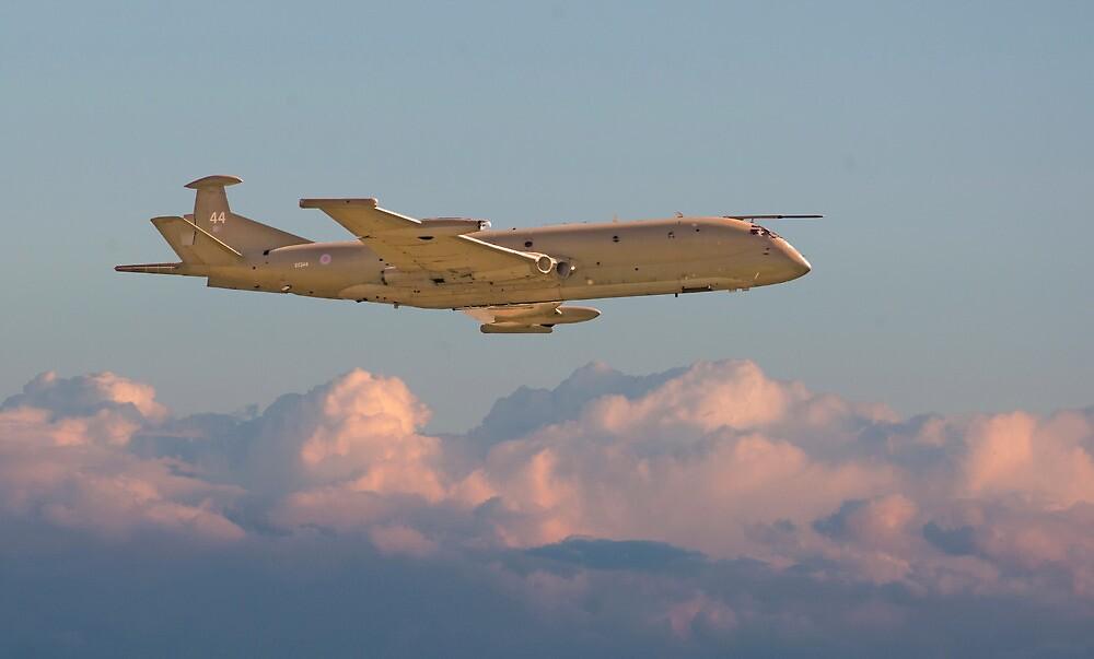 Nimrod - Maritime Patrol Aircraft by Pat Speirs