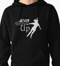Neverland Never Grow Up Peter Pan Pullover Hoodie