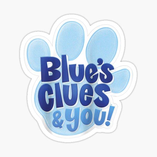 Logotipo de Blue's Clues & You Pegatina