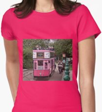 Nice Way To Travel - No 11 Womens Fitted T-Shirt