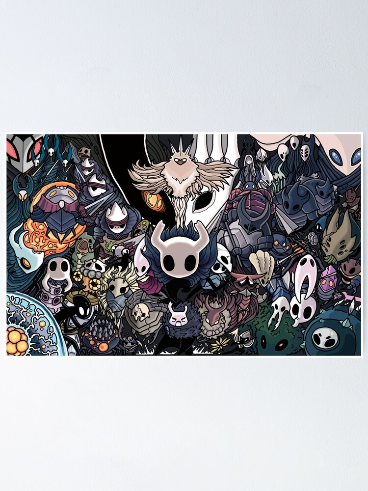 Alternate view of Hollow Knight - Indie Game Poster