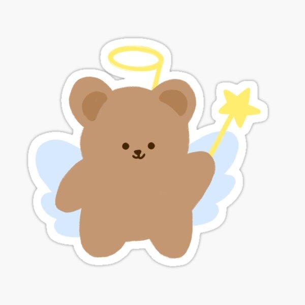 Little Angel Bear Sticker