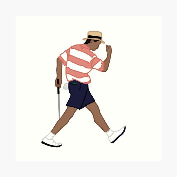 Vintage Tiger Woods 1994 Art Print
