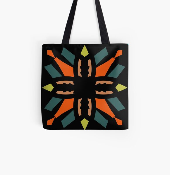 Theo's snowflake All Over Print Tote Bag