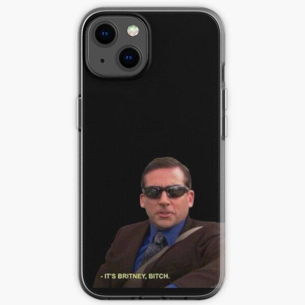 michael scott it's britney bitch the office iPhone Soft Case