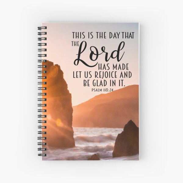 This is the day the Lord has Made Spiral Notebook