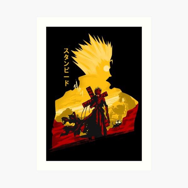 Humanoid Typhoon  Art Print
