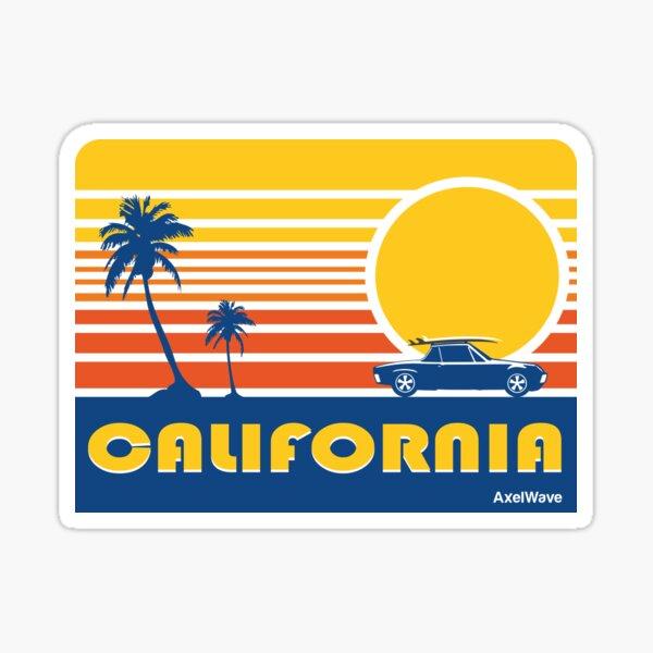 914 California Dream Sticker