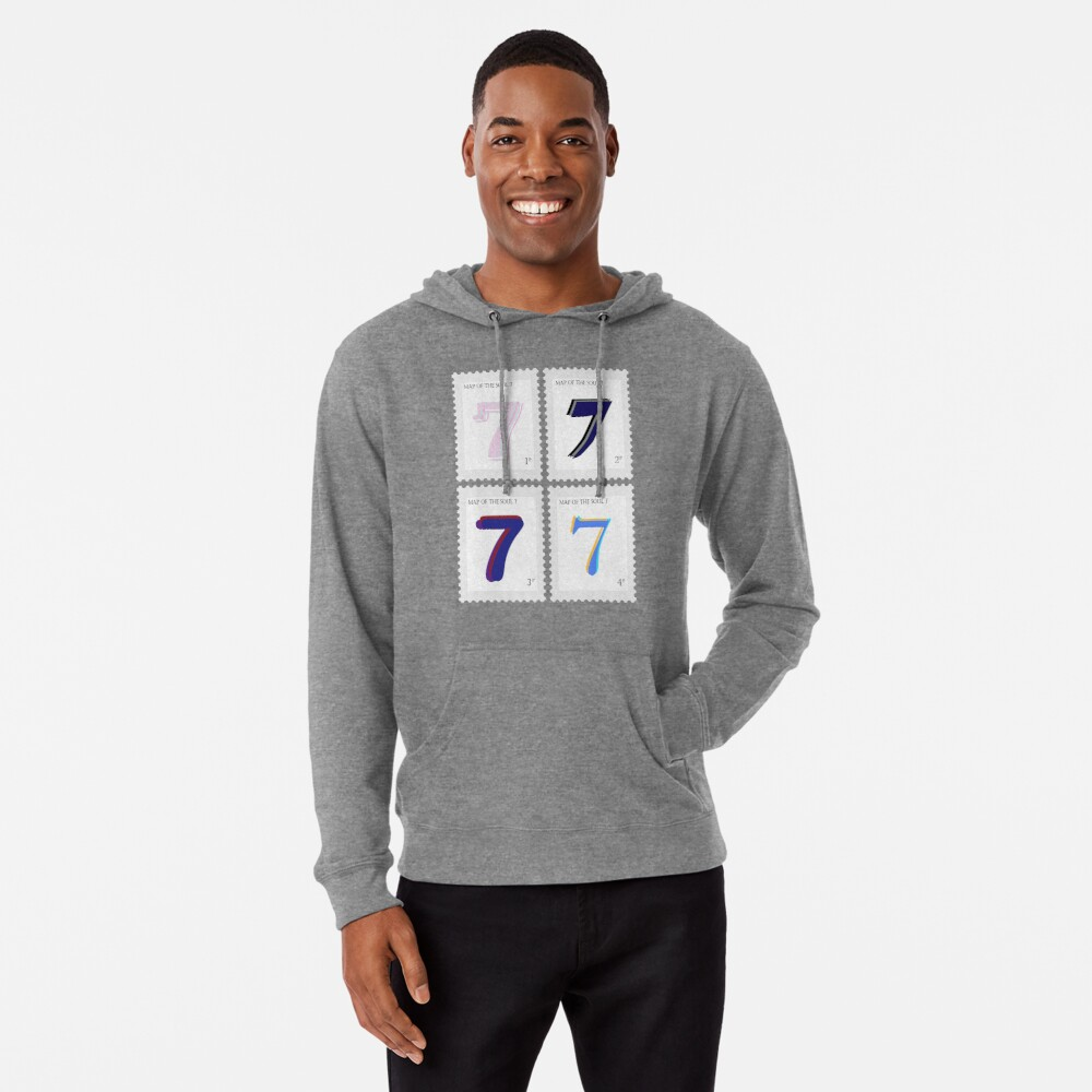 BTS Map of the Soul 7 Stamp Lightweight Hoodie