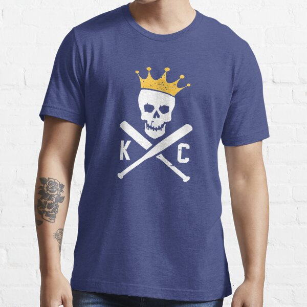 Kansas City Royals - Skull & Crossbones Essential T-Shirt